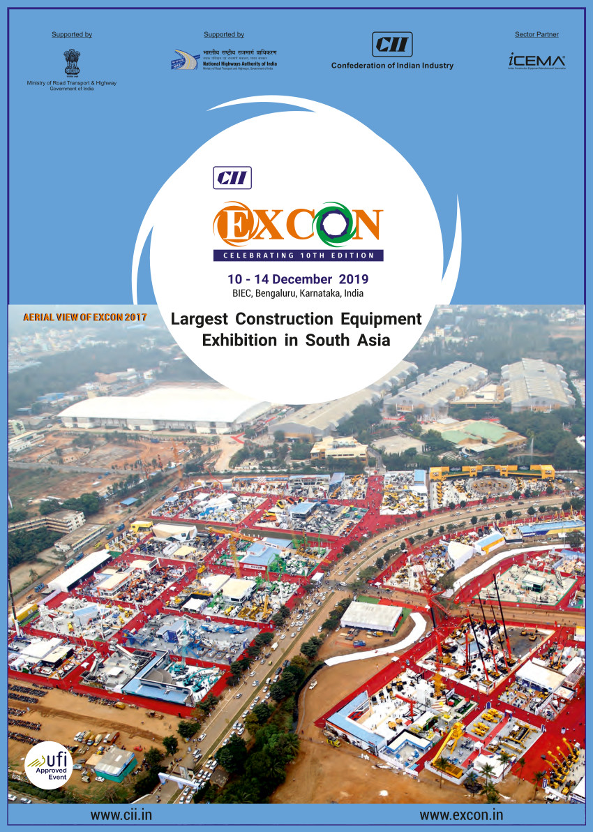 Welcome to EXCON 2019 | Date : 10 - 14 December 2019 | The